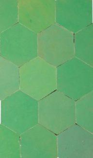compo hexa vert d'eau