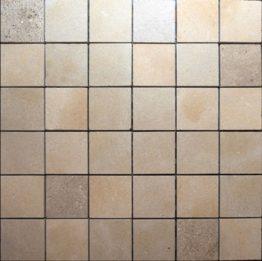Mosaique Atlas beige 5x5 adoucie