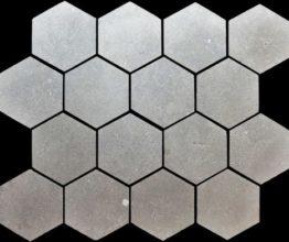 Mosaïque Atlas gris 5x5 adoucie