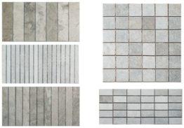 Mosaiques Seliana 5x5-2.5x5-4x15-1.5x15-2.5x15