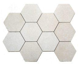 Thala hexagone antique